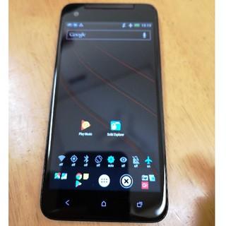 ハリウッドトレーディングカンパニー(HTC)の竹さん専用:au HTC J butterfly HTL21(スマートフォン本体)