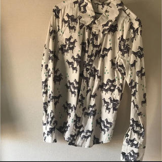 ブーフーウー(BOOFOOWOO)のブーフーウー ♡シャツ(ブラウス)