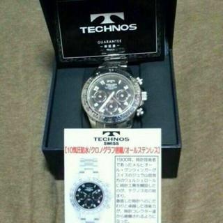 テクノス(TECHNOS)のお値下げテクノスの時計箱保証付きです(*^^*) 卒業入学入社のお祝いにも (腕時計(アナログ))