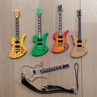 5本セット hide携帯ストラップ ギターコレクション(ストラップ)