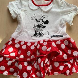 ディズニー(Disney)のベビー服ミニーちゃんワンピース(ワンピース)