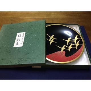 会津塗 菓子皿 漆器(漆芸)
