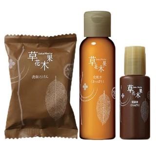 ソウカモッカ(草花木果)の草花木果 整肌トライアルセット×2(化粧水 / ローション)