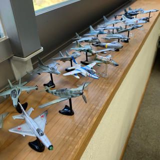カイヨウドウ(海洋堂)のチョコエッグ 戦闘機 シリーズ 24機(模型/プラモデル)