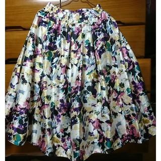 しまむら - しまむら花柄スカート