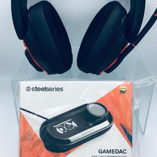 ゼンハイザー(SENNHEISER)のセット GSP 600 と新品 SteelSeries Game DAC(ヘッドフォン/イヤフォン)