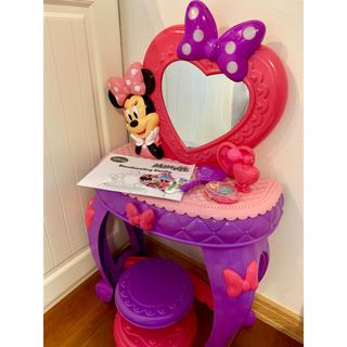 ディズニー(Disney)のミニー 子供用 ドレッサー おもちゃ おしゃれ 鏡(その他)