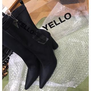 イエローブーツ(Yellow boots)のyello ショートブーツ TOKYO BLACK シューズ L(ブーツ)