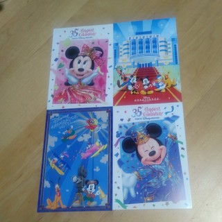ディズニー(Disney)のDisney ポストカード 6枚(写真/ポストカード)