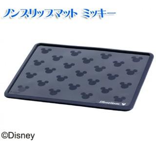 ディズニー(Disney)のノンスリップマット ミッキー ナポレックス 同サイズノーブランドマットセット(車内アクセサリ)