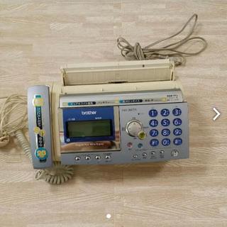 ブラザー(brother)のFAX付電話機(電話台/ファックス台)