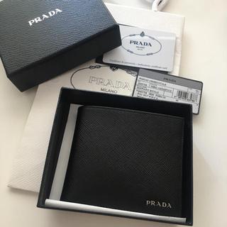 6e4743f1436f プラダ 折り財布(メンズ)(メタル)の通販 29点 | PRADAのメンズを買う ...
