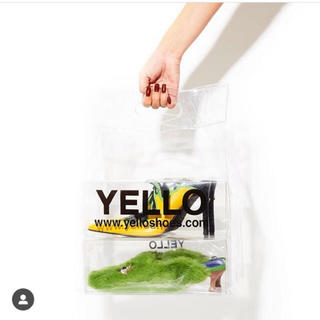 イエローブーツ(Yellow boots)のYELLO 星あや クリアショッパー クリアバッグ(ショップ袋)
