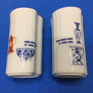 タカシマヤ(髙島屋)の深川製磁 ペアビアカップ(グラス/カップ)