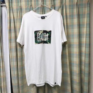 エルヴィア(ELVIA)のELVIRA カモtシャツ(Tシャツ/カットソー(半袖/袖なし))