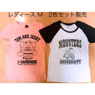 シマムラ(しまむら)のしまむらレディースM キャラクターTシャツ2枚セット(Tシャツ(半袖/袖なし))
