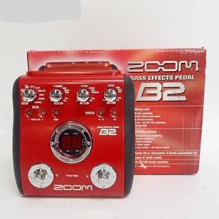 ズーム(Zoom)のZOOM/ズーム BASS EFFECTS PEDAL B2 ベース用 マルチ(ベースエフェクター)