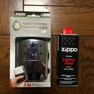 【新品】Zippo ハンディーウォーマー オイル充填式カイロ