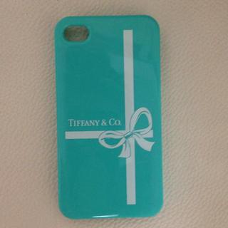 buy popular b60cd 5d16b TIFFANYのiPhone4sカバー♡