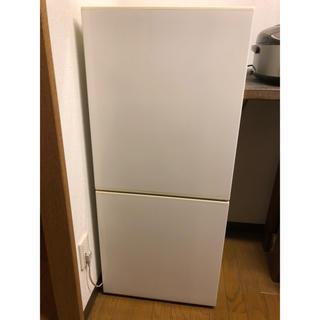 ムジルシリョウヒン(MUJI (無印良品))のg様専用 無印良品 冷蔵庫 110L RMJ-11B 2014年製 送料込み!(冷蔵庫)