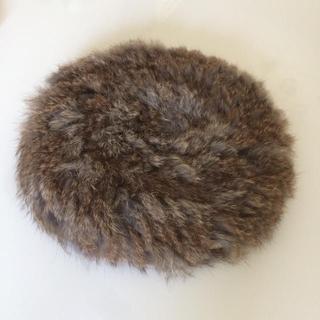 コムサイズム(COMME CA ISM)のファーベレー帽(ハンチング/ベレー帽)