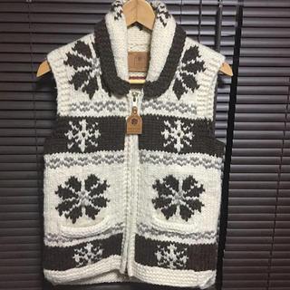 ザダファーオブセントジョージ(The DUFFER of ST.GEORGE)のTHE DUFFER OF st.GEORGE×canadian sweater(ベスト/ジレ)