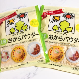 キッコーマン(キッコーマン)のおからパウダー 2袋セット (ダイエット食品)