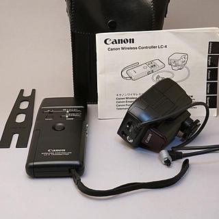 キヤノン(Canon)のCanon ワイヤレスコントローラLC-4(その他)