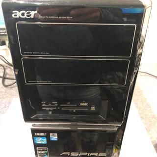 エイサー(Acer)のAcer デスクトップパソコン Cori5(デスクトップ型PC)
