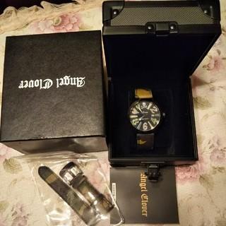 エンジェルクローバー(Angel Clover)のAngel Clover エンジェル クローバー 迷彩 スカル 腕時計 used(腕時計(アナログ))