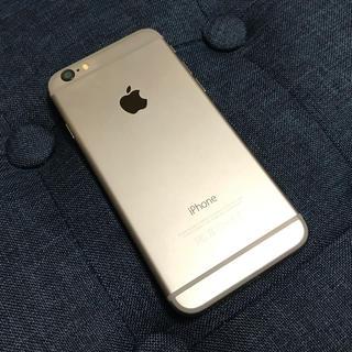 アップル(Apple)の【中古】iPhone6 16gb シルバー ソフトバンク(スマートフォン本体)