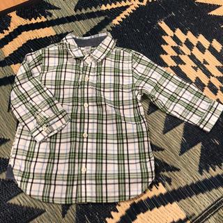 ギャップ(GAP)のGAP キッズ チェックシャツ 80㎝(シャツ/カットソー)