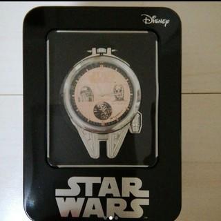 ディズニー(Disney)のスターウォーズ プレミヤムミレニアム・ファルコン型懐中時計(SF/ファンタジー/ホラー)