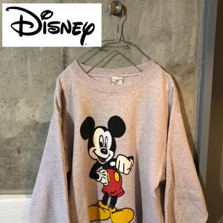 ディズニー(Disney)の90's USA製 OLD MICKY DISNEY スウェット(スウェット)