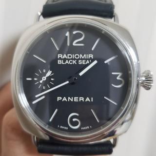 オフィチーネパネライ(OFFICINE PANERAI)の【追加画像】PANERAI/パネライ/ラジオミールブラックシールPAM00183(腕時計(アナログ))