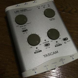 TASCAM USB MIDI Audio インターフェイス 中古 動作品(オーディオインターフェイス)