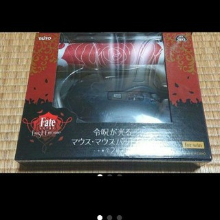 タイトー(TAITO)のfate マウス・マウスパッド 黒(PC周辺機器)