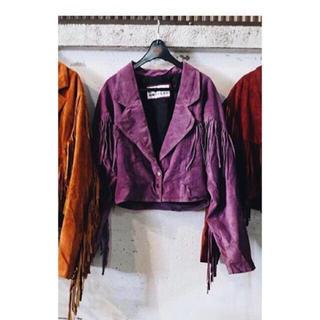デプト(DEPT)のsuede jacket(その他)
