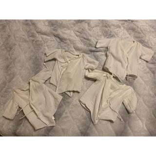 ニシマツヤ(西松屋)の新生児用 肌着 4枚組(肌着/下着)