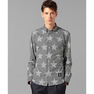 ギルドプライム(GUILD PRIME)のguildprime ギルドプライム スタープリントチェックシャツ (シャツ)