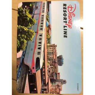 ディズニー(Disney)のディズニーリゾートライン ピクサー乗車記念カード(鉄道乗車券)