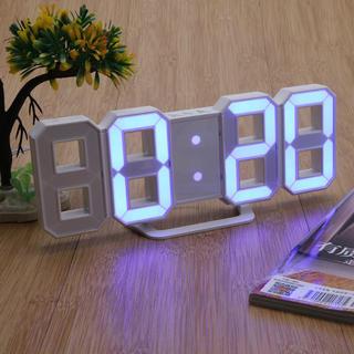 すごく格好いい LEDデジタル 3D 置き時計