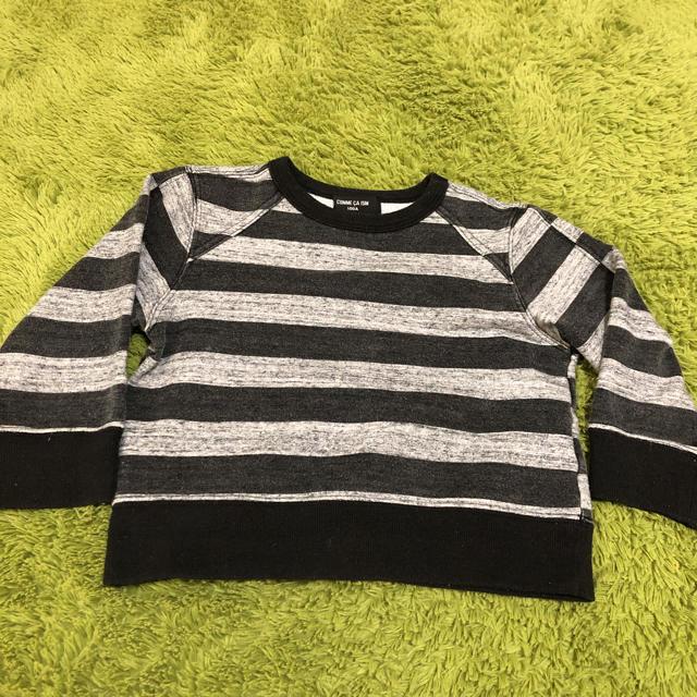 COMME CA ISM(コムサイズム)のcomsa 子供服100cm キッズ/ベビー/マタニティのキッズ服 女の子用(90cm~)(Tシャツ/カットソー)の商品写真