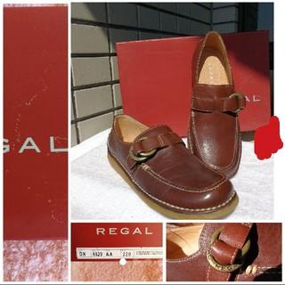 リーガル(REGAL)のREGAL リーガル リング付き カジュアルレディースシューズ(ローファー/革靴)