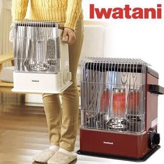 Iwatani - お買い得  デカ暖  CB-HPR-R  カセットガスストーブ  ワインレッド