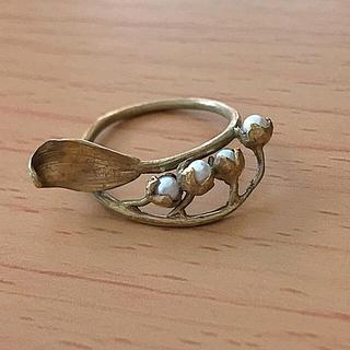 エムスール(m.soeur)のエムスール   すずらんのリング(リング(指輪))