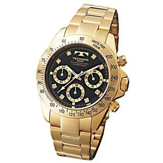 テクノス(TECHNOS)のTECHNOS TGM639GB ★クロノグラフ★新品★メンズ腕時計(腕時計(アナログ))