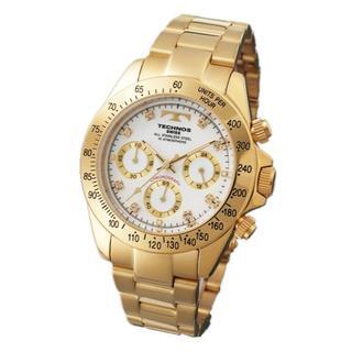 テクノス(TECHNOS)のTECHNOS TGM639GW ★クロノグラフ★新品★メンズ腕時計(腕時計(アナログ))