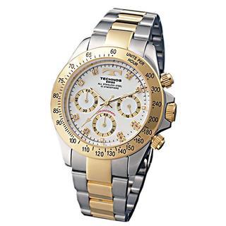 テクノス(TECHNOS)のTECHNOS TGM640TW ★クロノグラフ★新品★メンズ腕時計(腕時計(アナログ))
