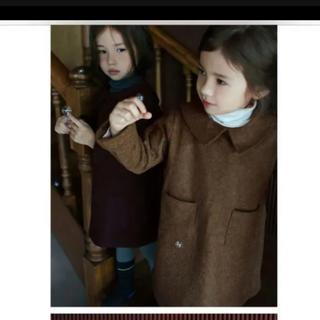 キャラメルベビー&チャイルド(Caramel baby&child )の韓国子供服 sweven ワンピース scon タートルネック(ワンピース)